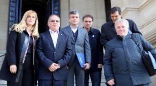 Magario participó de reunión de trabajo contra el narcotráfico