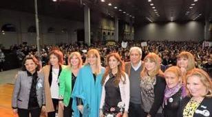 Magario participó de Conferencia Nacional del PJ en Santiago del Estero