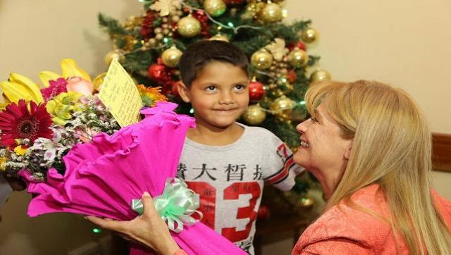 Se entregaron subsidios para prótesis de chicos del distrito
