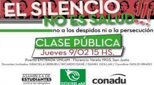 """Denuncian despidos en la Universidad de La Matanza por """"persecución política y gremial"""""""