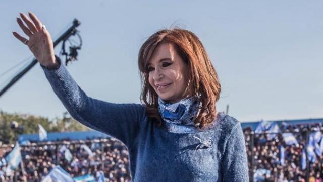 Cristina cierra su campaña en la sede de la UNLaM en González Catán