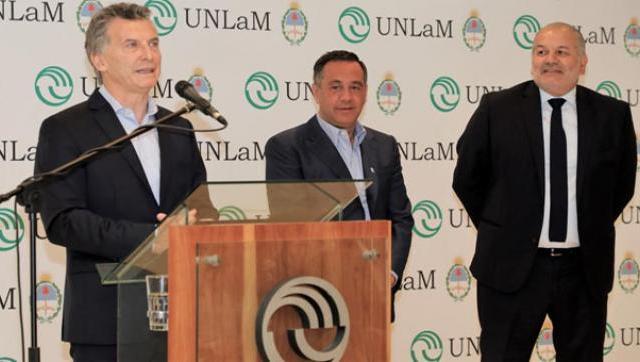 El Presidente inauguró el polo tecnológico de la UNLaM que dará trabajo a 600 estudiantes