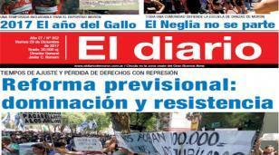 El diario N° 852