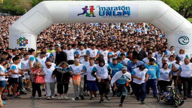 Más de 13.500 personas participaron del Maratón UNLaM