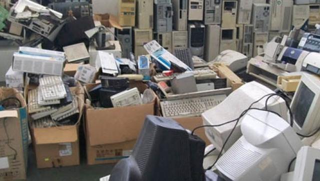 Jornada de recolección de residuos electrónicos