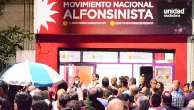 Rodolfo García Silva, referente del Movimiento Nacional Alfosinista de Morón