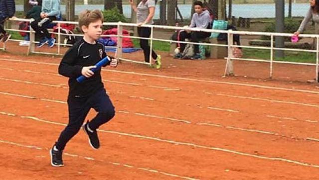 Cinco mini atletas dieron sus primeros pasos en el Gorki Grana