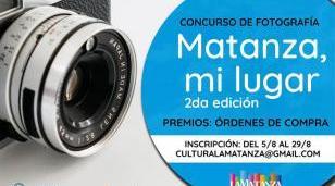 """Segunda edición del concurso de fotografía """"Matanza, mi lugar"""""""