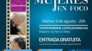"""Mujeres en Foco presenta """"En las nubes"""" en Ramos Mejía"""