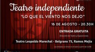"""Noches de Teatro Independiente presenta  """"Sencillo complicado"""""""