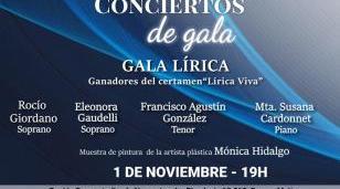 Concierto de Gala Lírica con entrada gratuita en Ramos Mejía