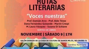"""El ciclo Rutas Literarias presenta este sábado """"Lengua madre"""""""