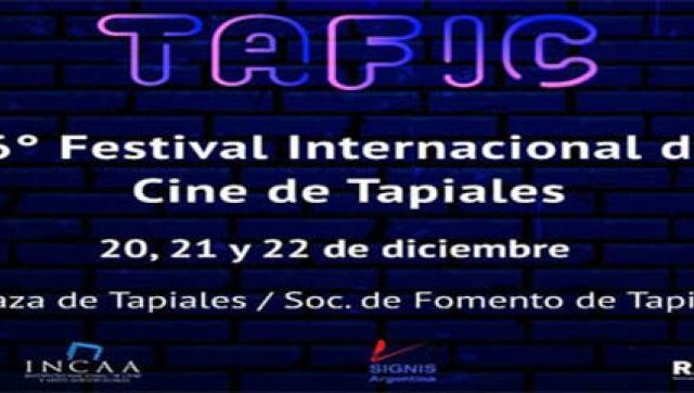 El Festival Internacional de Cine de Tapiales, celebra su 16ª edición