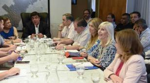 Espinoza reunió a su gabinete para supervisar las políticas de cada una de las áreas municipales