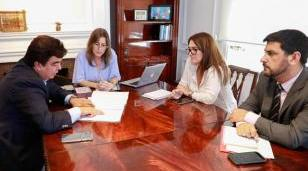 Espinoza se reunió con la Ministra Frederick para delinear el regreso de la Gendarmería a La Matanza