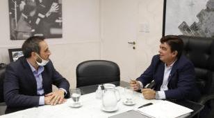 """Espinoza se reunió con Cabandié: """"estamos trabajando en la Argentina post pandemia"""""""