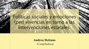 Publican un libro que analiza las políticas sociales desde el estudio de las emociones