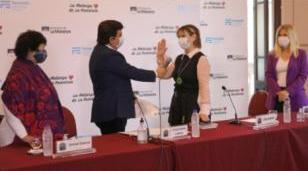 Espinoza presentó la Secretaría de las Mujeres, Políticas de Género y Diversidades