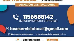 Nueva línea telefónica de Servicio Local