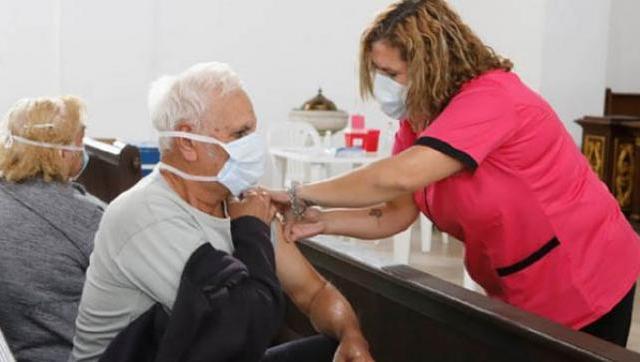 Continúan las postas de vacunación en La Matanza