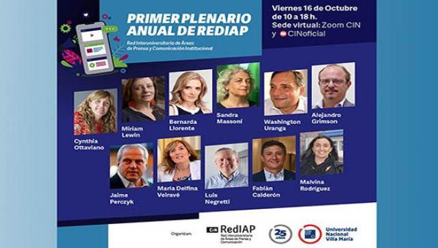 La UNLaM participará del primer Plenario anual de la Red Interuniversitaria de Áreas de Prensa