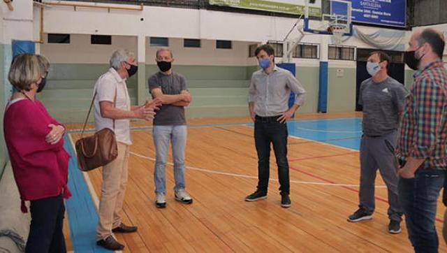 Clubes de Morón se preparan para la reapertura con protocolos sanitarios