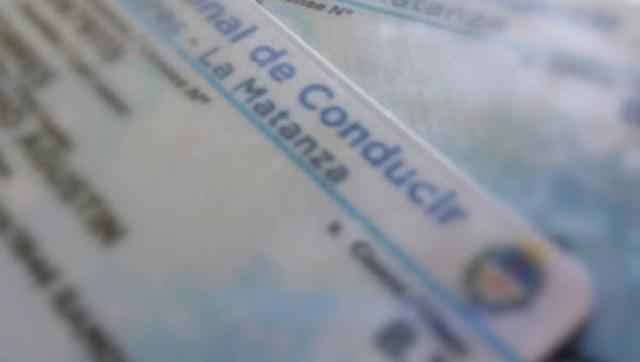 El vencimiento de las Licencias de Conducir se prorrogan por un año
