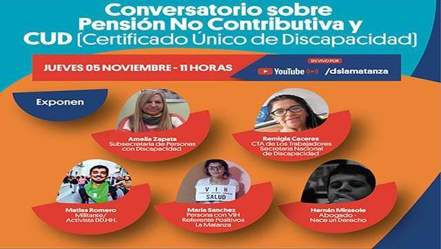 Conversatorio sobre Discapacidad en La Matanza