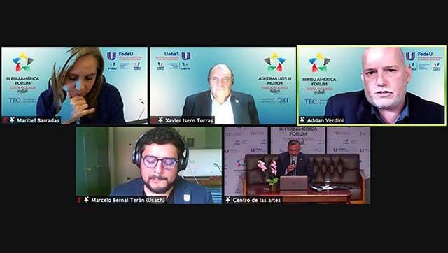 La UNLaM participó de un Foro Virtual internacional sobre vida deportiva y saludable