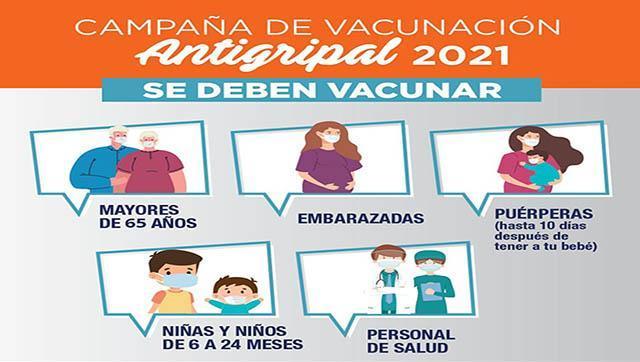 Comienza la Campaña vacunación antigripal en La Matanza