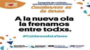 """Se puso en marcha la campaña """"Cuidarnos es la Tarea"""""""