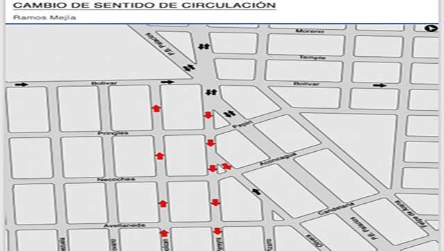 Comenzaron las tareas de señalización vial en La Matanza