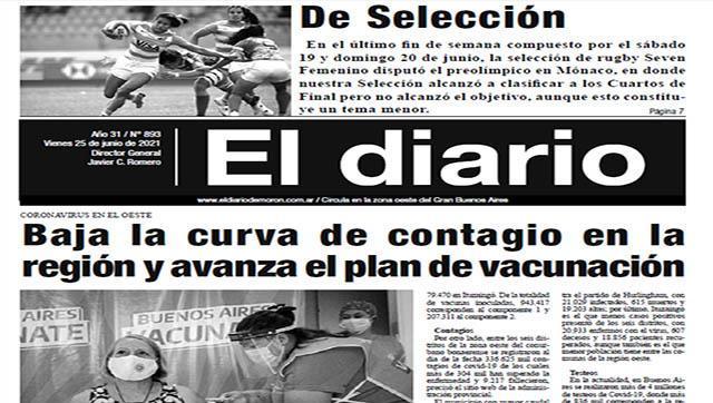 El diario N° 893 - 25 de junio de 2021