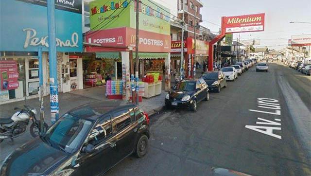 Laferrere: corte en Avenida Luro por obra hidráulica